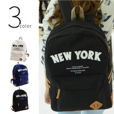 NEW YORK リュック おしゃれ バックパック メンズ レディース キッズ デイパック リュックサック アウトドア 通学 NY ニューヨーク リュック かわいいcbp-0006