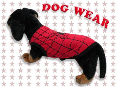 愛犬服 ドッグウェア ノースリーブ スパイダーワン スパイダー 犬/服/dog/wear/虫よけ/ハロウィン dw1-0033