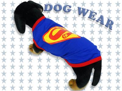 愛犬服 ドッグウェア ノースリーブ スーパーワン Super Dog 犬/服/dog/wear/虫よけ/ハロウィン dw1-0034