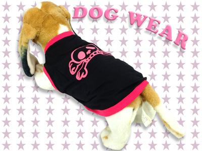 愛犬服 ドッグウェア 犬服 ノースリーブ ドクロ 海賊 パイレーツ メンズ レディース 男女兼用 ドッグウエア 犬の服 ペット服 犬ウェア 犬洋服 チワワ シーズー トイプードル ミニチュアダックスフンド 洋服 服 dw1-0036