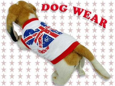 愛犬服 ドッグウェア ノースリーブ London Bear ロンドン ベア 犬/服/dog/wear/虫よけ/ハロウィン dw1-0037
