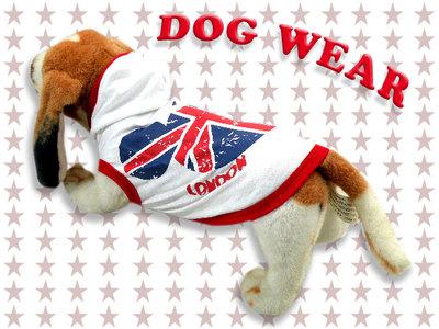 愛犬服 ドッグウェア フード パーカー London Bear 犬/服/dog/wear/虫よけ/ハロウィン dw2-0006