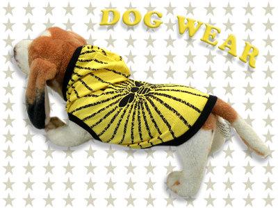 愛犬服 ドッグウェア 犬服 フード パーカー ハチ Bee メンズ レディース 男女兼用 ドッグウエア 犬の服 ペット服 犬ウェア 犬洋服 チワワ シーズー トイプードル ミニチュアダックスフンド 洋服 服 dw2-0010