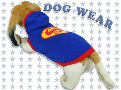 愛犬服 ドッグウェア フード パーカー スーパーワン Super Dog 犬/服/dog/wear/虫よけ/ハロウィン dw2-0011
