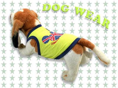 愛犬服 ドッグウェア タンクトップ London Bear ロンドン ベア 犬/服/dog/wear/虫よけ/ハロウィン dw3-0004