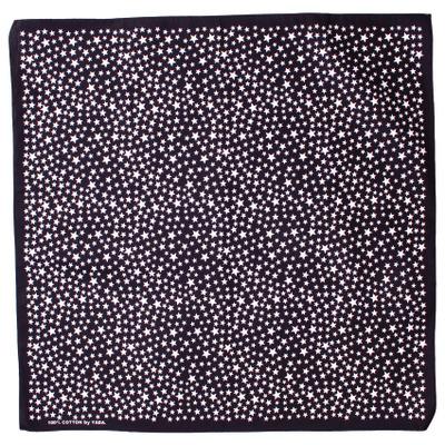 バンダナ 星柄 スターダスト 小 50×50cm bnd-0049