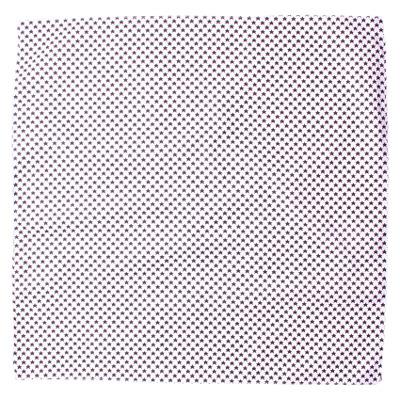 バンダナ 星柄 ミニスター 白地 50×50cm bnd-0050