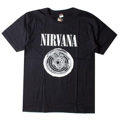 ロックTシャツ Nirvana ニルヴァーナ サークル gts-0193