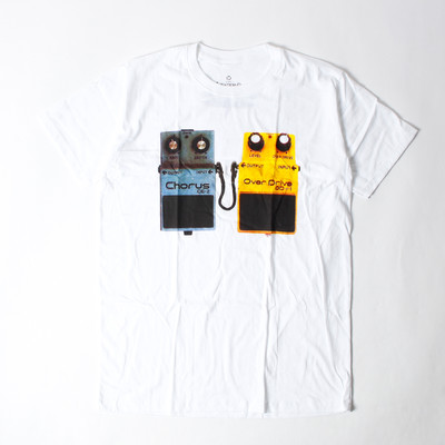 プリントTシャツ Stereo Chorus ステレオコーラス エフェクター メンズ/レディース/半袖/おもしろ/おしゃれ ebi-0326