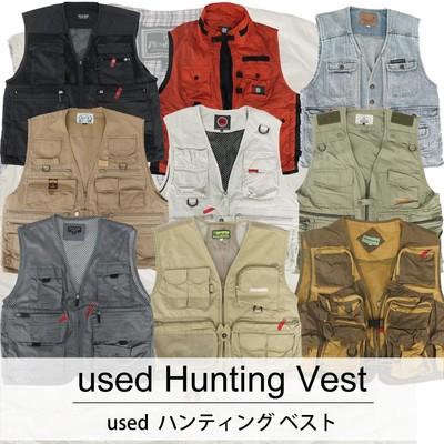 used Hanting Vest 古着 ユーズド ハンティング ベスト 1枚あたり1400円 6枚セット サイズ カラーMIX アソート use-0223
