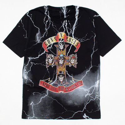 ロックTシャツ Guns N' Roses ガンズ アンド ローゼズ Appetite For Destruction mf2-0037