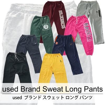 used Brand Sweat Long Pants 古着 ユーズド ブランド スウェット ロング パンツ 1枚あたり1300円  10枚セット サイズ カラーMIX アソート use-0190