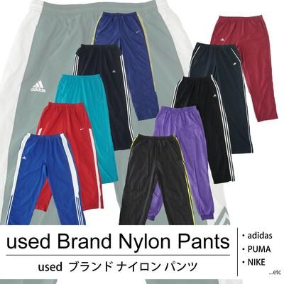 used Brand Nylon Pants (A-grade) 古着 used ブランドナイロンパンツ 1着あたり1200円 10着セット MIX アソート use-0094