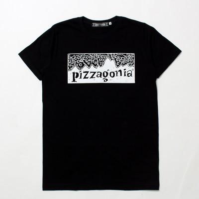 デザインTシャツ Pizzagonia ピザゴニア jpt-0002