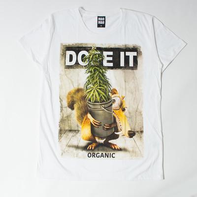 MAO MAO クルーネック プリントTシャツ DOPE IT メンズ/レディース/半袖/Tシャツ/半袖Tシャツ/プリント/夏 mao-0007
