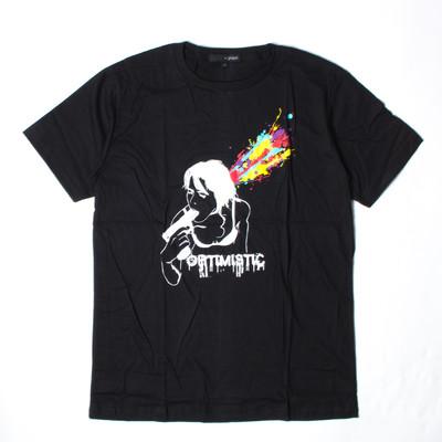 プリントTシャツ Optimistic メンズ/レディース/半袖/おもしろ/おしゃれ grt-0033