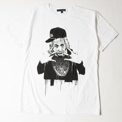 プリントTシャツ ギャング アインシュタイン メンズ/レディース/半袖/おもしろ/おしゃれ grt-0006