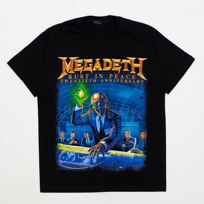 ロックTシャツ MEGADETH メガデス RUST IN PEACE reo-0334