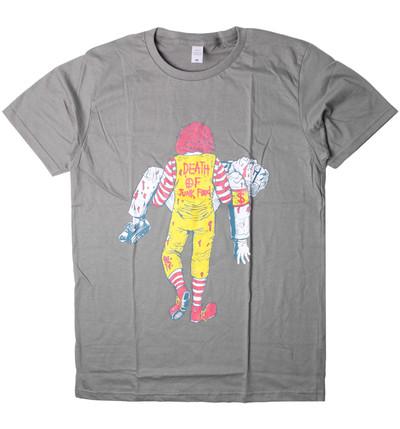 プリントTシャツ DEATH OF JUNK FOOD メンズ/レディース/半袖/おもしろ/おしゃれ nki-0001-c1