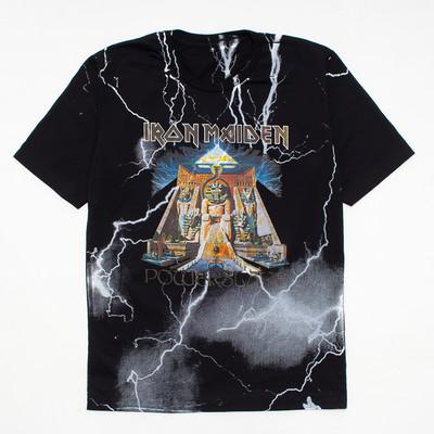 ロックTシャツ Iron Maiden アイアン メイデン POWERSLAVE mf2-0030