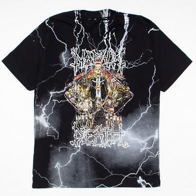 ロックTシャツ NAPALM DEATH ナパーム・デス mf2-0020
