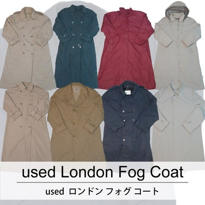 used London Fog Coat 古着 ユーズド ロンドン フォグ コート 1枚あたり1800円  6枚セット サイズ カラーMIX アソート use-0171
