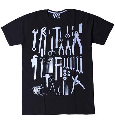プリントTシャツ 工具 メンズ/レディース/半袖/おもしろ/おしゃれ ara-0191