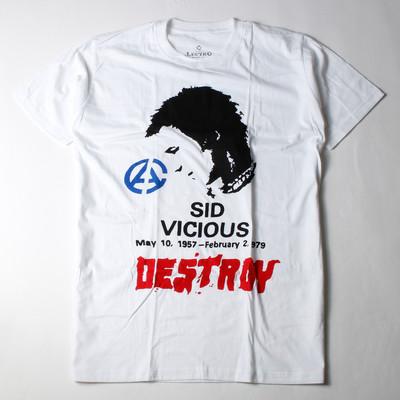ロックTシャツ Sid Vicious シド ヴィシャス ベーシスト ミュージシャン ebi-0312