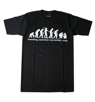 プリントTシャツ Back to the primitive メンズ/レディース/半袖/おもしろ/おしゃれ udt-0003(unf-)