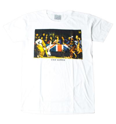 プリントTシャツ Last Supper メンズ/レディース/半袖/おもしろ/おしゃれ ara-0167