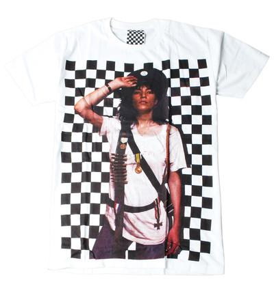 プリントTシャツ Woman Soldier メンズ/レディース/半袖/おもしろ/おしゃれ ara-0164