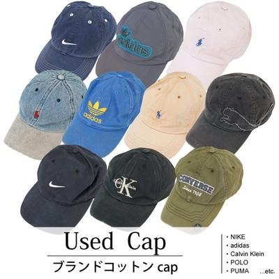 Used Brand Cap 古着 ブランドコットンCAP キャップ 1個あたり1,300円 10個セット MIX アソート use-0060
