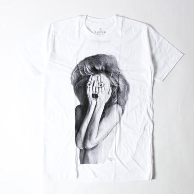 プリントTシャツ ハンドペイント 女性 メンズ/レディース/半袖/おもしろ/おしゃれ ebi-0324