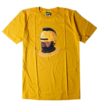 デザインTシャツ ヘルメット 黒人 nki-0026-c1