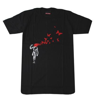 プリントTシャツ Beautiful Suicide 美しき自殺 メンズ/レディース/半袖/おもしろ/おしゃれ udt-0011(unf-)