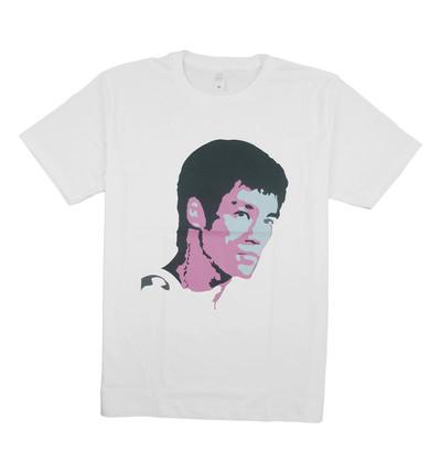 プリントTシャツ クンフーマスター ブルース リー メンズ/レディース/半袖/おもしろ/おしゃれ nki-0004