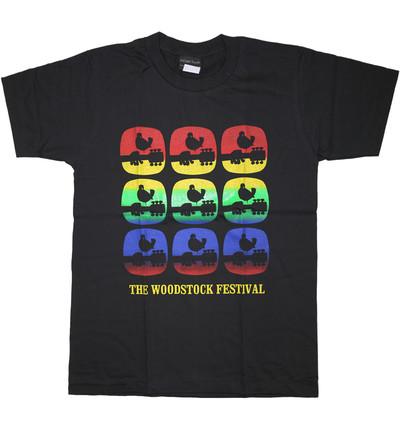 ロックTシャツ Woodstock ウッドストック 鳥いっぱい wft-0464