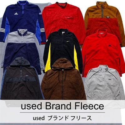 used Brand Fleece  古着 ユーズド ブランド フリース 1枚あたり1700円 10枚セット サイズ カラーMIX アソート use-0183
