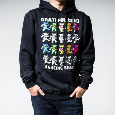 プルオーバー ロックパーカー Grateful Dead グレイトフル デッド裏起毛/フード/パーカー/メンズ agp-0026