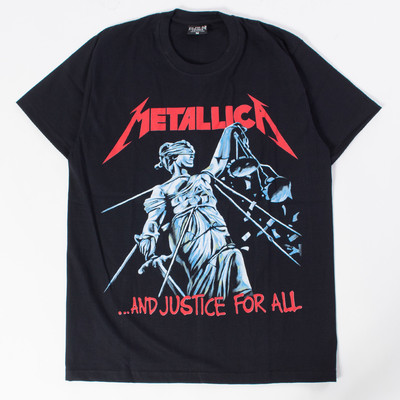 ロックTシャツ Metallica メタリカ …And Justice For All reo-0133