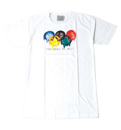 プリントTシャツ You Make Me Melt メンズ/レディース/半袖/おもしろ/おしゃれ ara-0144