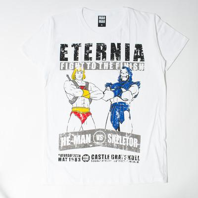 プリントTシャツ HE-MAN VS SKELTOR メンズ/レディース/半袖/Tシャツ/半袖Tシャツ/プリント/秋 mao-0005