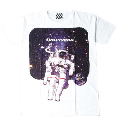 プリントTシャツ Spaceman メンズ/レディース/半袖/おもしろ/おしゃれ ara-0180