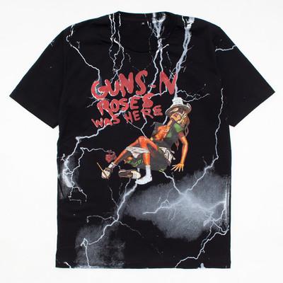 ロックTシャツ Guns N' Roses ガンズ アンド ローゼズ WAS HERE mf2-0035