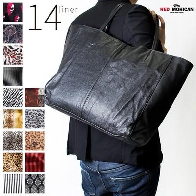 本革 レザートートバッグ Red-Mohican メンズ レディース トート バッグ トートバック かばん カバン 鞄 ファッション ブランド ltb-0001