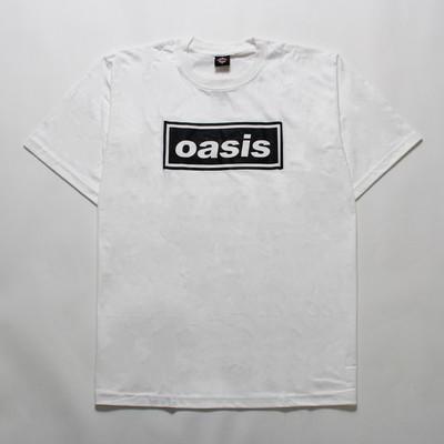 ロックTシャツ Oasis オアシス 文字ロゴ gts-0201