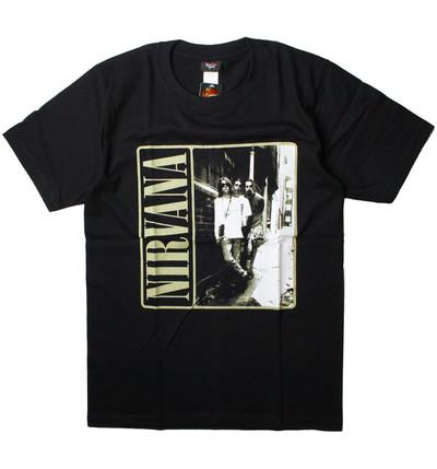 ロックTシャツ Nirvana ニルヴァーナ gts-0196