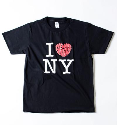 キッズ プリントTシャツ I LOVE (Have Never Been To) NY ボーイズ/ガールズ/半袖/子ども/ジュニア/子供服 gpk-0004