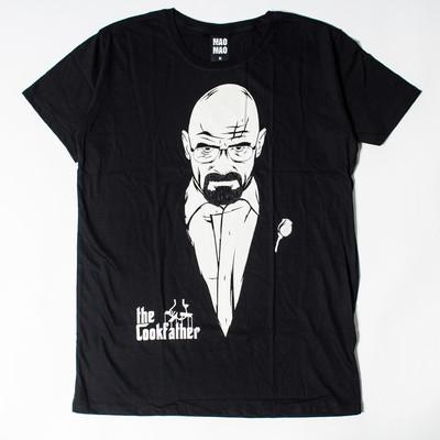 プリントTシャツ the Cookfather メンズ/レディース/半袖/Tシャツ/半袖Tシャツ/プリント/秋 mao-0003