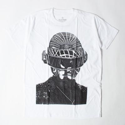 ロックTシャツ Daft Punk ダフト パンク ヘルメット ebi-0338
